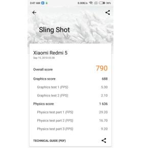 3DMark Slingshot (Redmi 5)