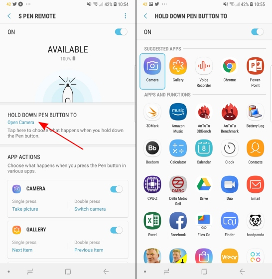 How to Customize New S Pen in Galaxy Note 9