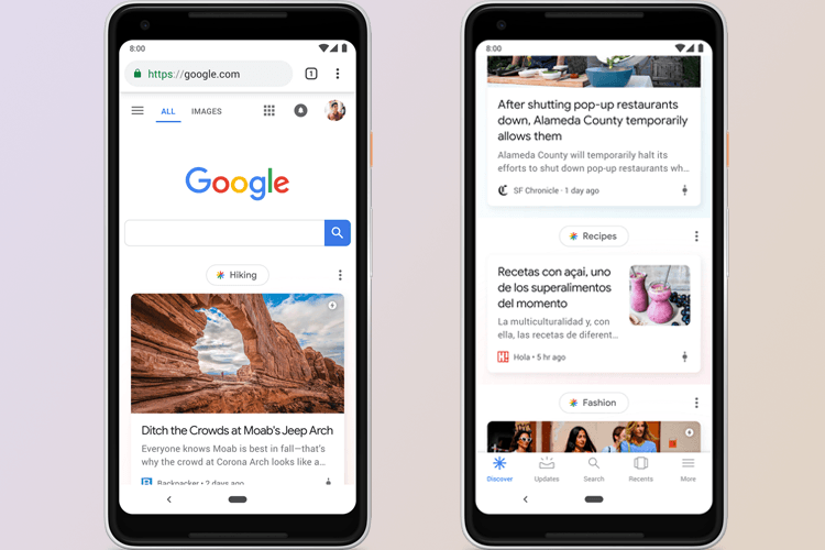 Google Feed is Now Discover As Google Announces Major Revamp