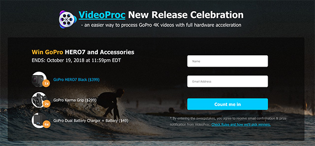 VideoProc: GoPro/DJI Video Processing Made Easy