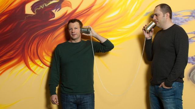 WhatsApp co-founders Brian Acton (left) and Jan Koum (Image: Forbes)