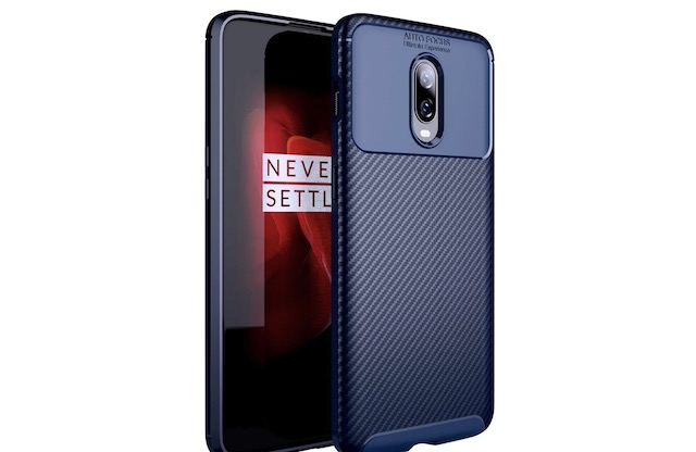 1. BIGZOOK Carbon Textured Case for OnePlus 6T