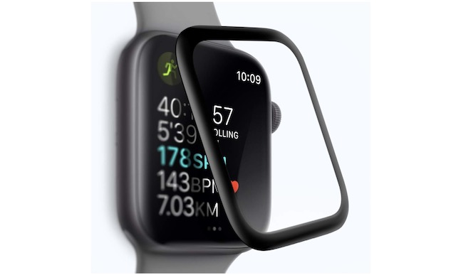 1. SLEO Screen Protector for Apple Watch Series 4