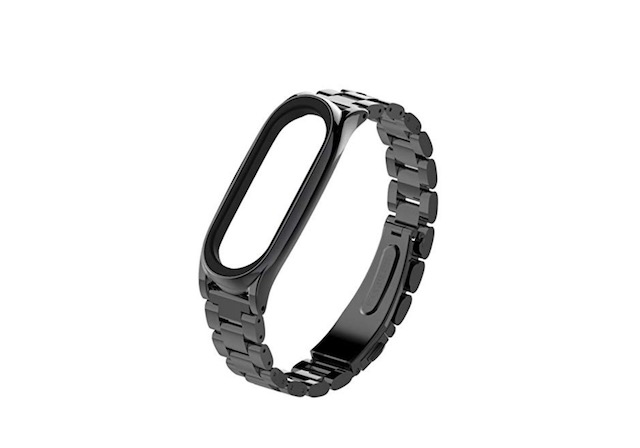 2. Taslar Stainless Steel Strap for Xiaomi Mi Band 3