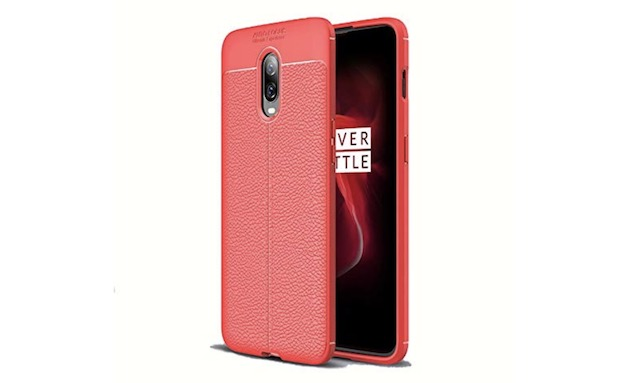 3. TARKAN OnePlus 6T Leather Textured Case