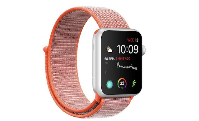 4. SYRE Nylon Sport Band for Apple Watch Series 4