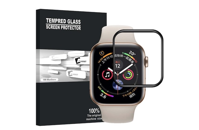 5. AVIDET Screen Protector for Apple Watch Series 4