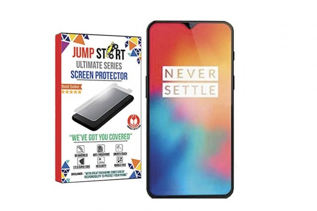 6. Jump Start Tempered Glass for OnePlus 6T