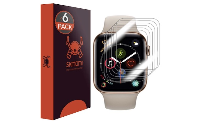 7. Skinomi Apple Watch Series 4 Screen Protector