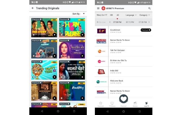 Airtel Launches Airtel TV Premium Subscription with Access