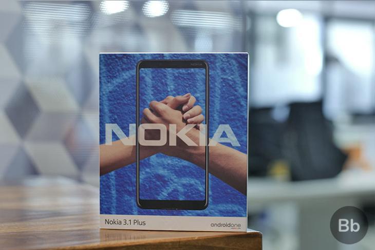 Nokia 3-1 Plus Box
