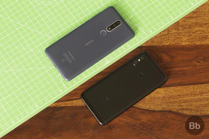 Nokia 31 Plus vs Redmi 6 Pro Featured