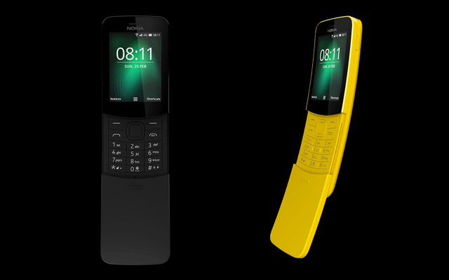 Nokia 8110 4G 'Banana Phone' Launched in India; Priced At Rs 5,999