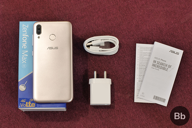 ZenFone Max M1 box contents