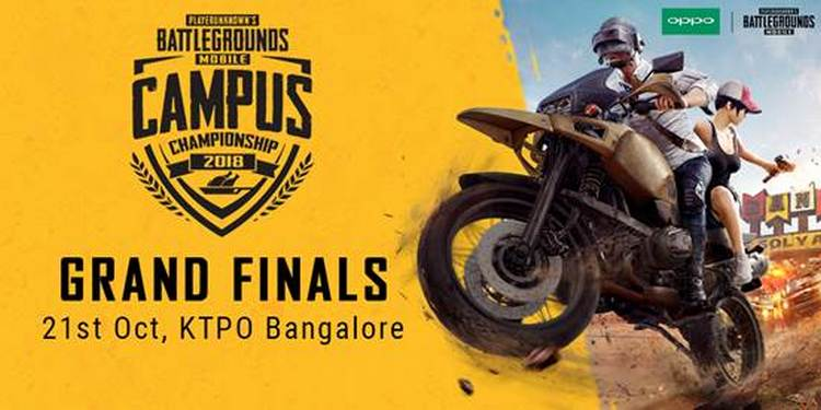 PUBG Mobile Campus Championship Grand Finale Set For October 21 in Bangalore