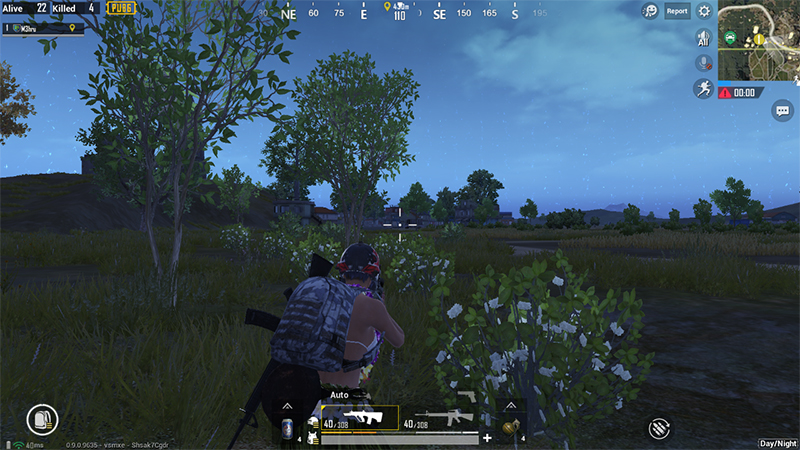 PUBG Mobile Night Mode