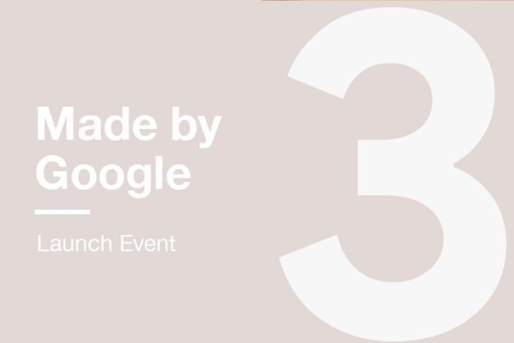 Pixel 3 Launch Event