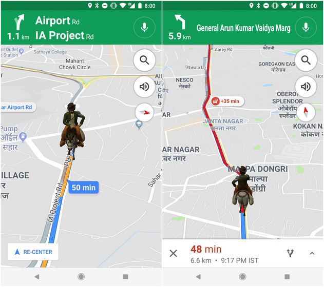 You Can Now Navigate on Google Maps With Aamir Khan's