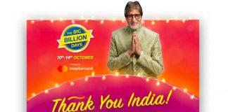 flipkart big billion days after sale statistics