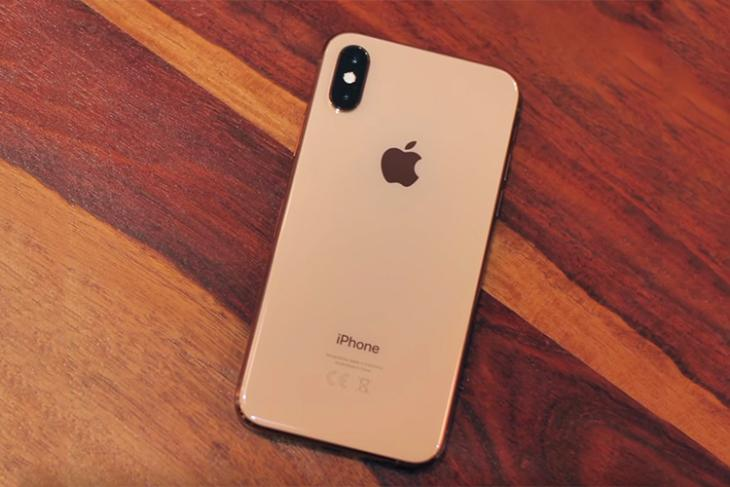 iphone xs performance test