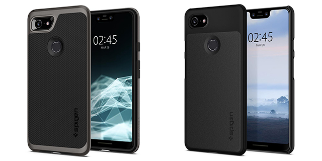 Pixel 3 and 3 XL Cases by Spigen Reveal Final Design