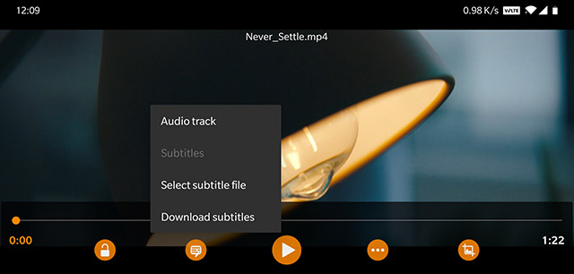 Add subtitles to VLC on Android