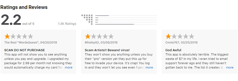 App Store reviews SocialView for Instagram