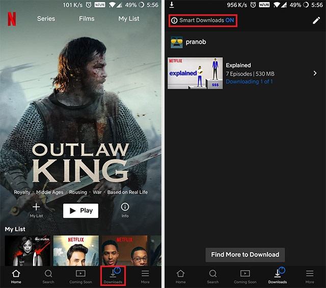 How to Get Around the Netflix Download Limit | Beebom
