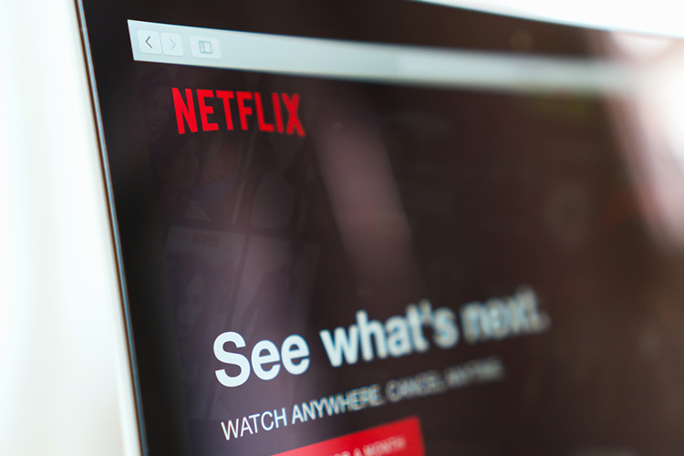 Netflix tests using your motion sensors to