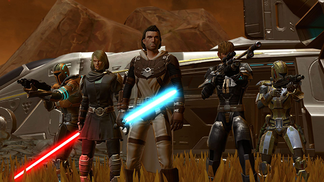 best mmorpgs star wars: the old republic