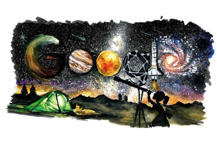 children's day india google doodle