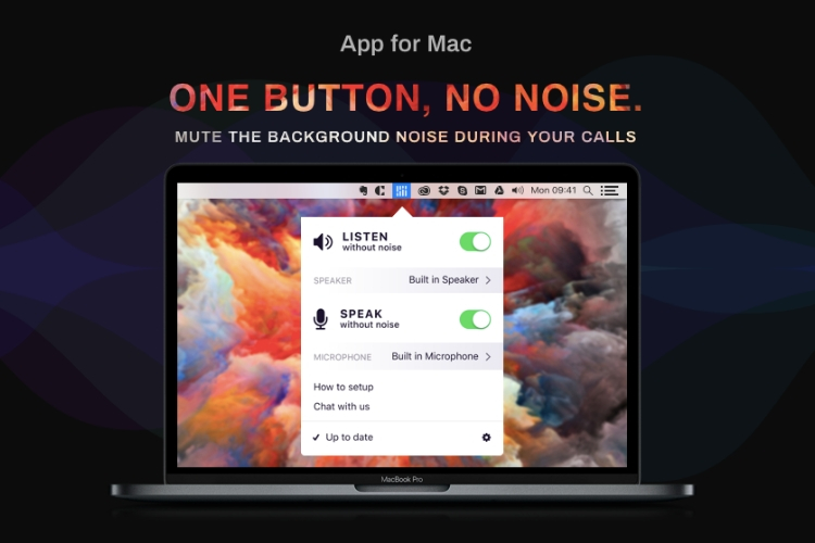 Mac App Krisp Uses AI to Mute Background Noise in Conference