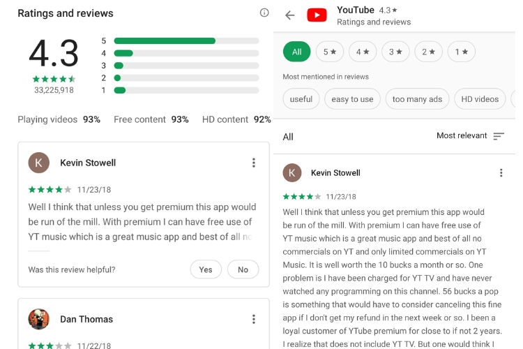 Google Play Store Ratings and Reviews Could Get New Look Soon