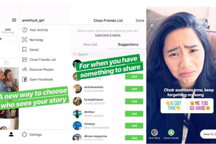 instagram stories close friends