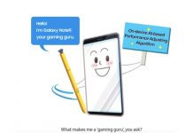 samsung Ai gaming galaxy note 9
