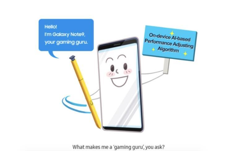 samsung Ai gaming galaxy note 9