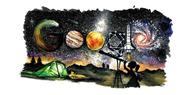 Google Doodle Celebrates Children's Day With 'Google 4 Doodle' Winner