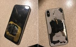 apple iphone X exploded
