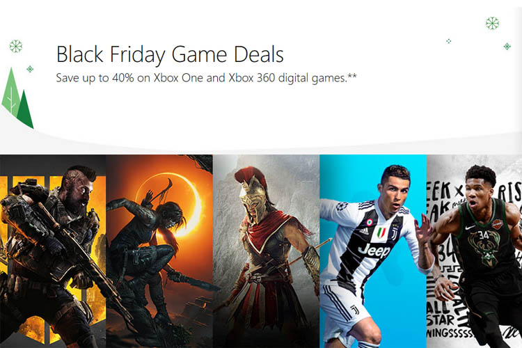 Xbox One Black Friday Deals: Get Up to 40% off on AAA Titles