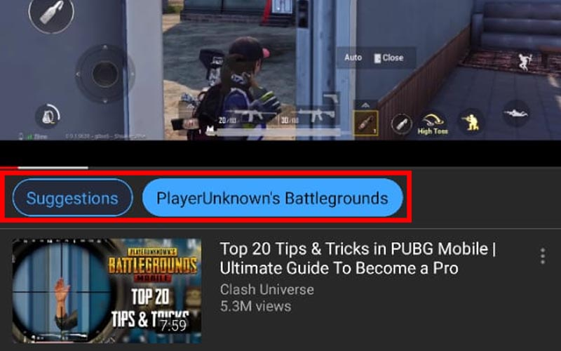 Youtube On Android Now Shows Suggested Tags Under Videos Beebom