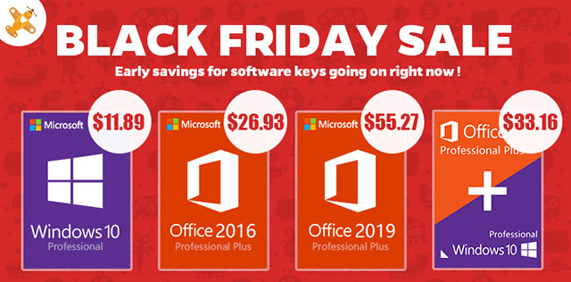 Black Friday GoodOffer24 deals Windows and Office banner