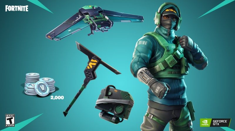 Nvidia Launches 'GeForce Fortnite Bundle' With Special Items, V-Bucks