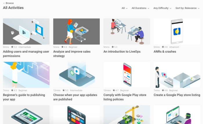 google android play academy