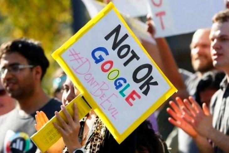 google misconduct
