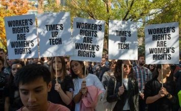 Google walkout (Image: Bryan R. Smith/Getty Images)