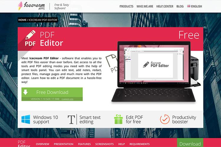 free edit pdf software download