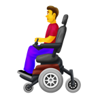 man-in-motorized-wheelchair