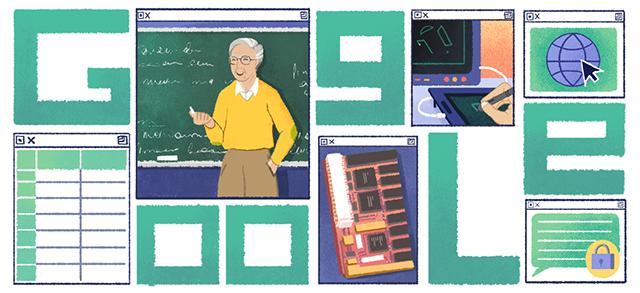 Google Doodle Celebrates MIT Professor Who Foresaw Internet's Impact