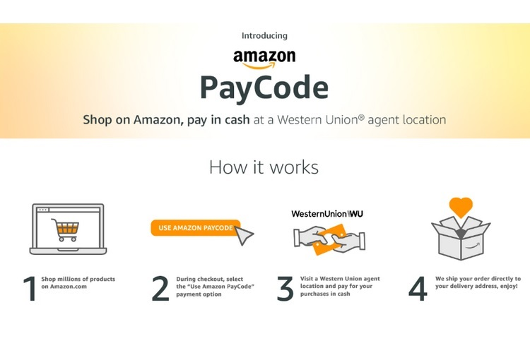 Introduces Payment Amazon Paycode Checkout For Method Offline
