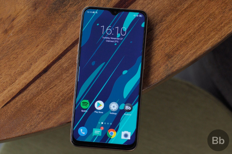 realme U1 display new copy